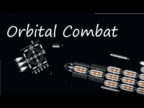 Space Warfare with a Giant Battleship [Spaceflight Simulator]