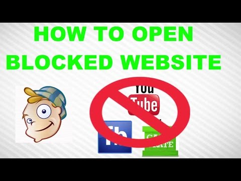 How to open the blocked websites -  access blocked sites using tor browser