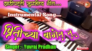 Pritichya Baget Tu -प्रितिच्या बागेत तू | Yuvraj pradhan natak song | Natak Song Organ Cover