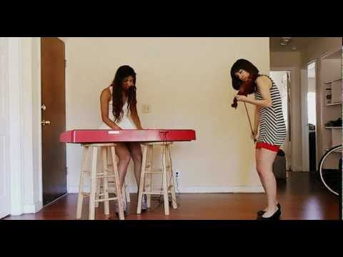 Muse - Invincible: Dubutantes Piano and Violin cover (Summer Swee-Singh & Miren Edelstein)