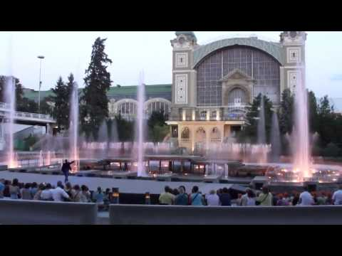Praha - Křižíkova fontána