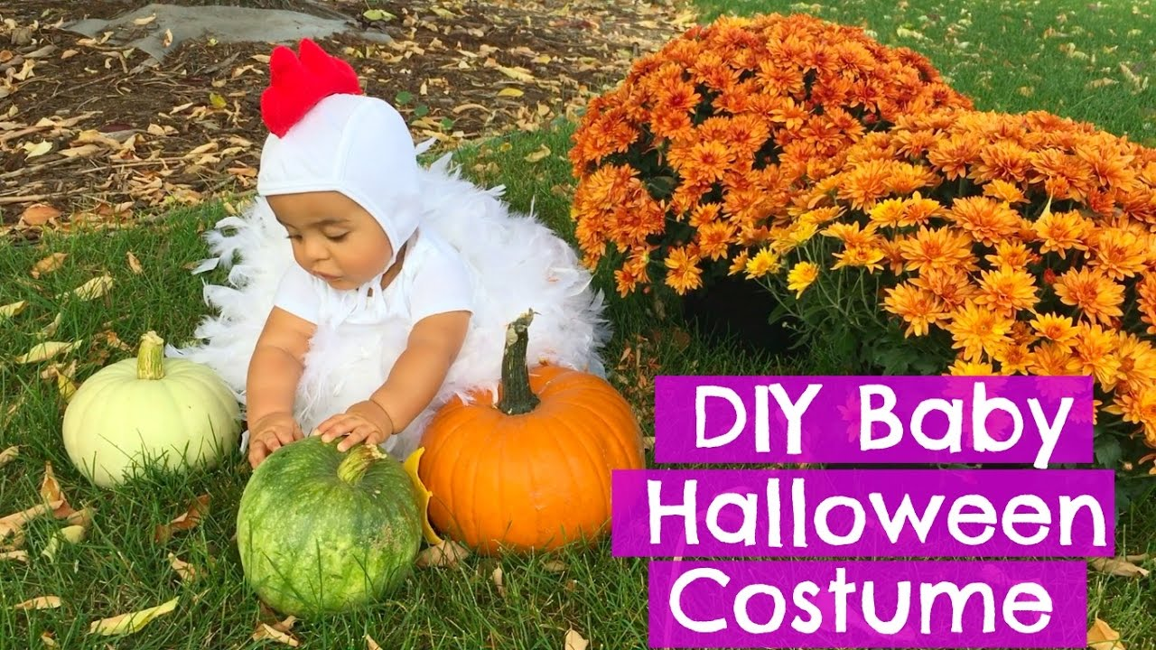 diy baby chick halloween costume mommy monday itu0027s the reeds youtube