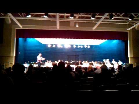 West Bendle Middle School Concert 1-17-2012 Part 1