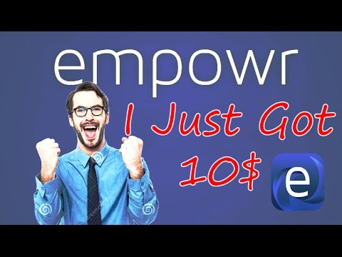 Empowr peyment proof bangla | Empowr cash out | How I got $10