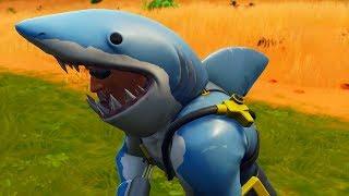 SHARK'S NEW LEGENDARY SKIN! MR. MORDISCADINHA! (Fortnite Battle Royale)