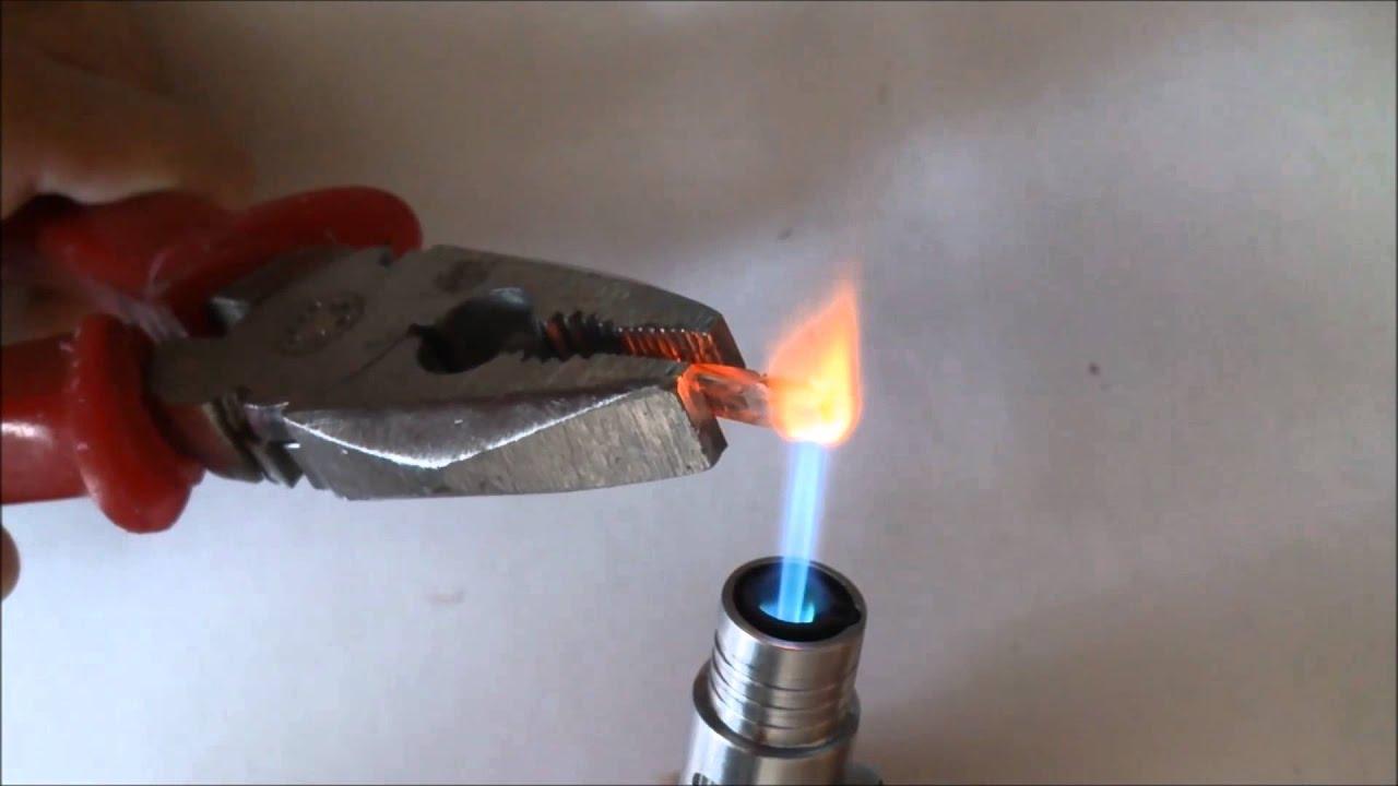 Gas turbo lighter - YouTube