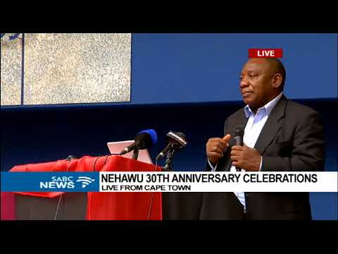 Cyril Ramaphosa addresses Nehawu 30th anniversary celebratio