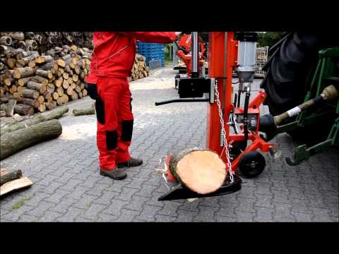 Fabelhaft Holzspalter Kopenhagen 25 Tonnen - www.WEMATIK.de - YouTube &VO_76