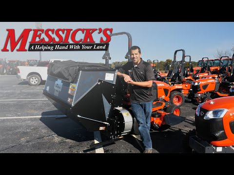 TerraKing Hopper Catcher For  Kubota BX $3995 | Product Walk-around