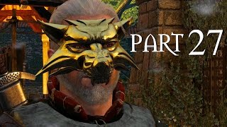 The Witcher 3 Walkthrough Part 27 - BROKEN FLOWERS (The Witcher 3 PC Gameplay)