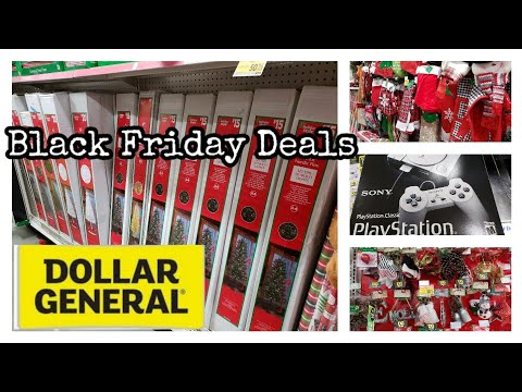 DOLLAR GENERAL BLACK FRIDAY IN STORE 2019