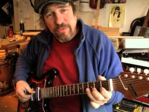 Robert Belfour's Hill Stomp -  lesson by Chickenbone John