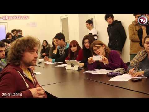 First LGBT press conference in Azerbaijan