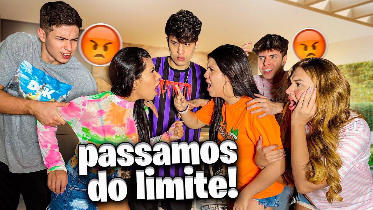 BRIGAMOS NA FRENTE DE TODOS DA CASA!!! *muito fútil*
