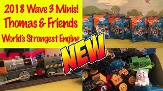 NEW WAVE 2018 3 MINIS! Thomas & Friends World's Strongest Engine   Kid