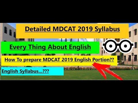 Скачать Detailed MDCAT 2019 Syllabus  !! All About English Syllabus  !!  Complete Guide  !! - смотреть онлайн - Видео