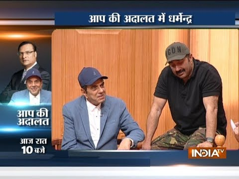 Aap Ki Adalat: Sunny Deol gets emotional while talking about father Dharmendra