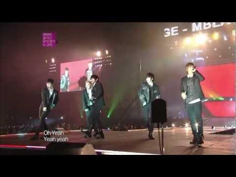 Full HD MBLAQ Performence On Korean Music Wave Love Concert In KOBE 121202