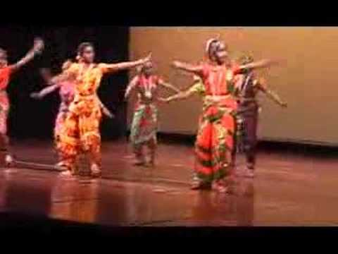 Jane's Bharathanadyam at Cubberly Theater, Palo Alto