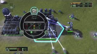 Supreme Commander Xbox 360 Gameplay - GDC Gameplay 2 (HD)