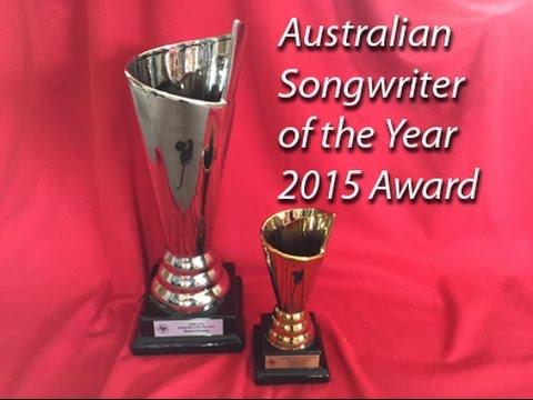 Winner of the Australian Songwriter of the Year 2015 Award - Karen Guymer