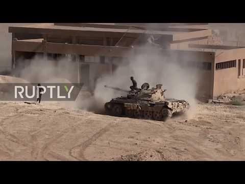 Syria: SAA retakes airbase near Deir ez-Zor in further advances against IS