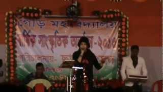 Bepanah pyar hai aaja song singed by a good singer of Kolkata (HD)