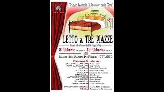Letto a Tre Piazze | I Teatranti delle Orte | Commedia | InOnda WebTv