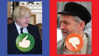 Good News for Boris Johnson, Bad News for Jeremy Corbyn!