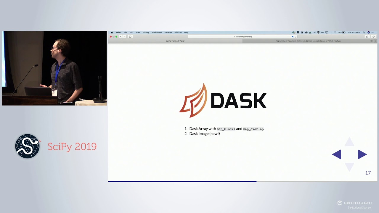 Image from dask image:A Library for Distributed Image Processing