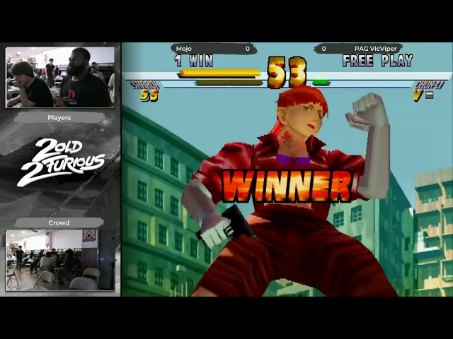 Skillions x 2 Old 2 Furious AGAIN Street Fighter EX2 Plus Top 5 (Mojo) vs (PacVicViper)