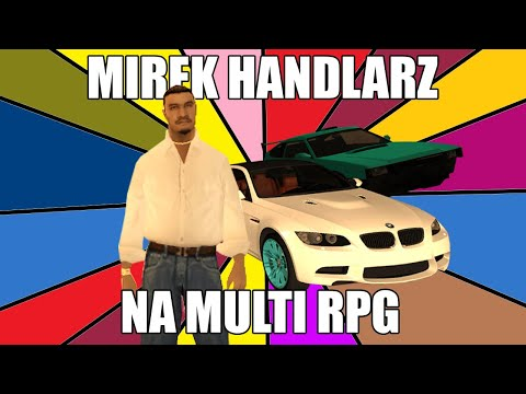 MIREK HANDLARZ Na MULTI RPG! 🚗🤑