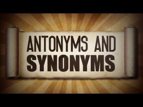 Antonyms And Synonyms (पर्यायवाची एवं विलोम शब्द) In Hindi   Class 4 Hindi    YouTube