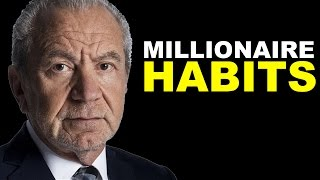 3 Powerful Habits of Self Made Millionaires