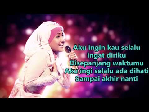 Fatin Shidqia Lubis     Demi Cintaku   Official  Lyrics Video