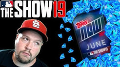 June Topps Now Pack Opening MLB The Show 19 Diamond Dynasty