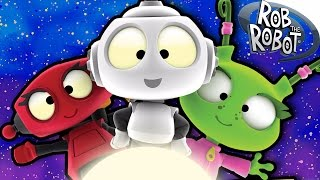 Cartoon | An HOUR with Rob The Robot | Funny Cartoons For Children | Rob The Robot