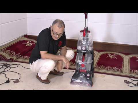 طريقة فك وتركيب أجزاء مكنسة هوفر لتنظيفها ثم تخينها How To Assemble Hoover Carpet Washer Vax Youtube
