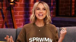 Arielle Kebbel was Live from Facebook LA talking about life to her new show Midnight