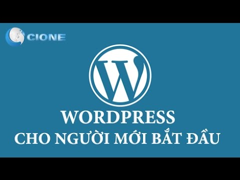 [WordPress căn bản – 04] –  Cài đặt chung  – Thiết lập ngôn ngữ cho WordPress