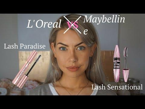 e483667144c L'Oreal Lash Paradise vs Maybelline Lash Sensational - YouTube