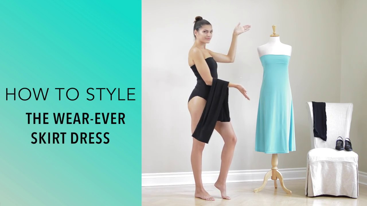 How To Style The Wear-Ever Convertible Travel Skirt Dress by Diane Kroe