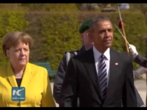 Obama  and  Merkel  defend  U.S.-EU  free  trade  agreement
