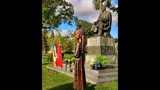Holodomor Statue unveiling in Winnipeg