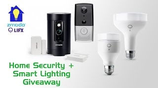 Home Security & Smart Lighting Giveaway (Ended)