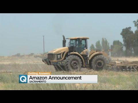 Amazon To Bring 1.000 Jobs To Sacramento