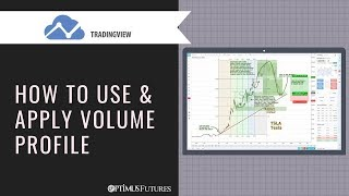 TradingView - How to use and Apply Volume Profile