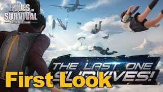 Rules of Survival Gameplay First Look - MMOs.com (Mobile PUBG Clone)