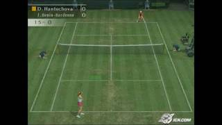 Smash Court Tennis Pro Tournament 2 PlayStation 2 Gameplay