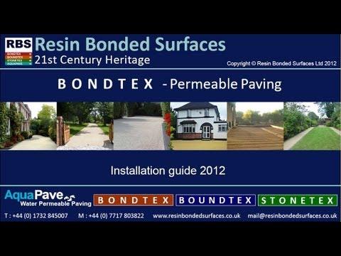 BondTex Installation Video